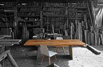 Contemporary table / wooden / rectangular / contract