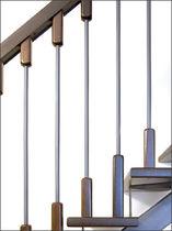 Indoor railing / wooden / metal / with bars