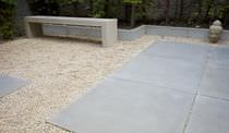 Garden edge / concrete / linear