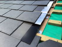 Solar thermal roof tile / slate
