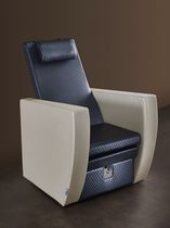 Leather pedicure chair
