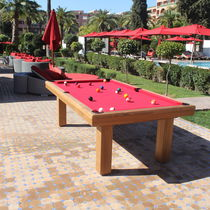 Contemporary pool table / outdoor / not specified