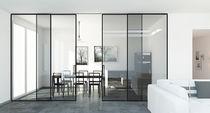 Aluminum fastening system / for doors / sliding