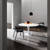 Contemporary dining table / oak / walnut / birch