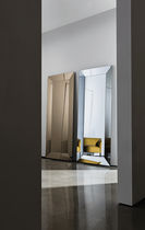 Wall-mounted mirror / free-standing / illuminated / contemporary