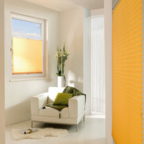 Pleated blinds / canvas / acoustic