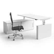Workstation desk / melamine / original design / commercial
