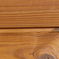 Wooden cladding / grooved / strip / durable