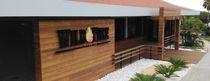 Wooden wall cladding / exterior / interior