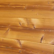 Wall-mounted paneling / wooden / aged / PEFC-certified