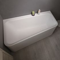 Freestanding bathtub / Solid Surface / deep