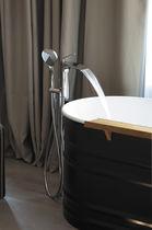 Bathtub mixer tap / chromed metal / thermostatic / bathroom