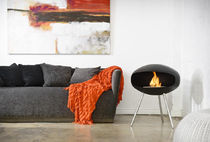 Bioethanol fireplace / contemporary / open hearth / central