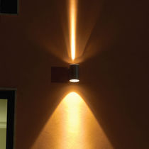 Contemporary wall light / outdoor / extruded aluminum / LED