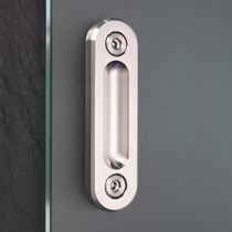 Sliding door handle / metal / contemporary