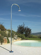 Pool garden shower / stainless steel