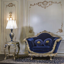 Classic armchair / fabric / contract / for hotels