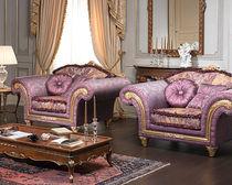 Textile armchair / classic