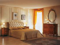 Double bed / traditional / wooden