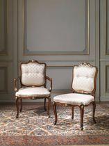 Louis XV style armchair / textile