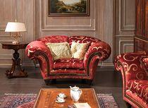 Fabric armchair / classic