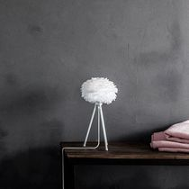 Table lamp / contemporary / paper / feather