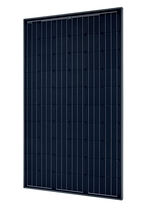 Monocrystalline PV panel / standard / for roofs / black