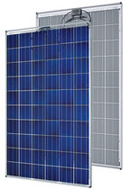 Polycrystalline PV panel / standard / for roofs / with aluminum frame