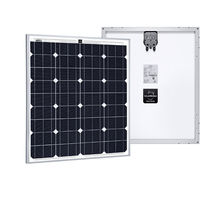Monocrystalline PV panel / standard / self-cleaning / with aluminum frame
