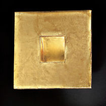 Contemporary wall light / square / Aircoral® / LED