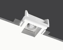 Recessed downlight / halogen / square / rectangular