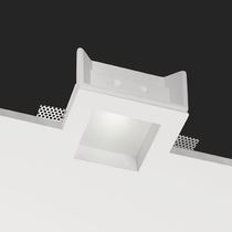 Recessed downlight / LED / halogen / square