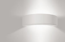 Contemporary wall light / coral