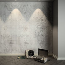 Contemporary wallpaper / vinyl / floral pattern