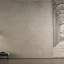 Contemporary wallpaper / vinyl / urban motif / concrete look