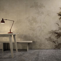 Contemporary wallpaper / vinyl / floral