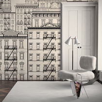 Contemporary wallpaper / vinyl / urban motif