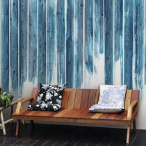Vinyl wallpapers / contemporary / patterned / wood look