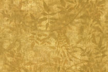 Contemporary wallpaper / vinyl / nature pattern / gold-colored
