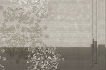 Contemporary wallpaper / vinyl / nature pattern / geometric
