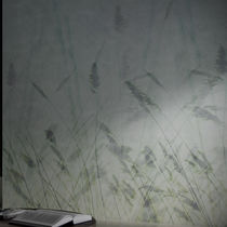 Contemporary wallpaper / vinyl / nature pattern / washable