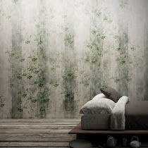 Contemporary wallpaper / vinyl / nature pattern / striped