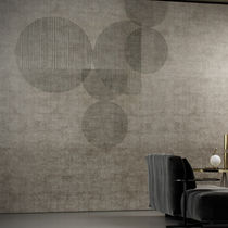 Contemporary wallpaper / vinyl / geometric pattern / washable