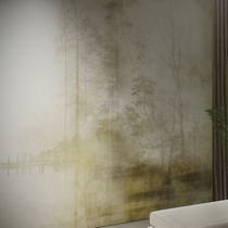 Vinyl wallcovering / residential / commercial / fabric look