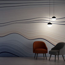 Vinyl wallcovering / residential / commercial / smooth