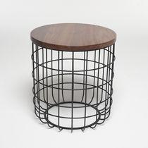Original design side table / walnut / white oak / steel
