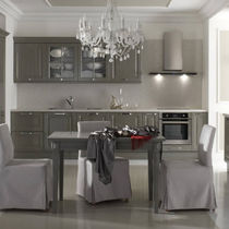 Traditional kitchen / laminate / lacquered / high-gloss