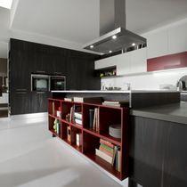 Contemporary kitchen / laminate / wooden / island