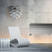 Hot water radiator / low-temperature / steel / contemporary