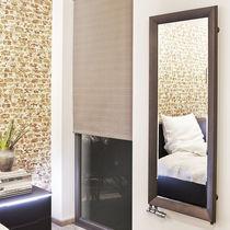 Hot water radiator / electric / steel / mirror